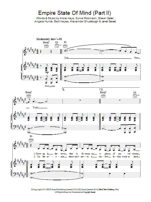 New York Alicia Keys Chords Piano Choice Image Chord Guitar Finger