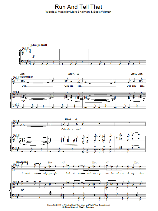 run rabbit run sheet music pdf