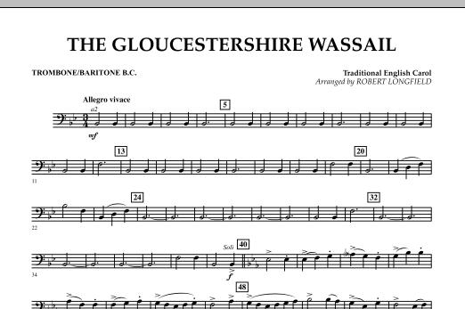 The Gloucestershire Wassail - Trombone/Baritone B.C. (Concert Band)