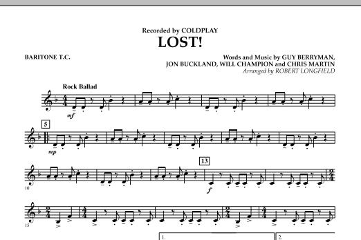 Lost! - Baritone T.C. (Concert Band)