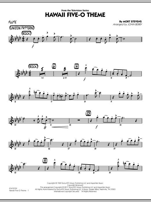 Hawaii Five-O Theme - Flute (Jazz Ensemble)