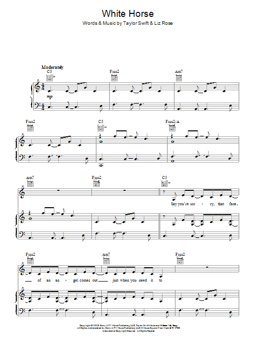 White Horse | Sheet Music Direct