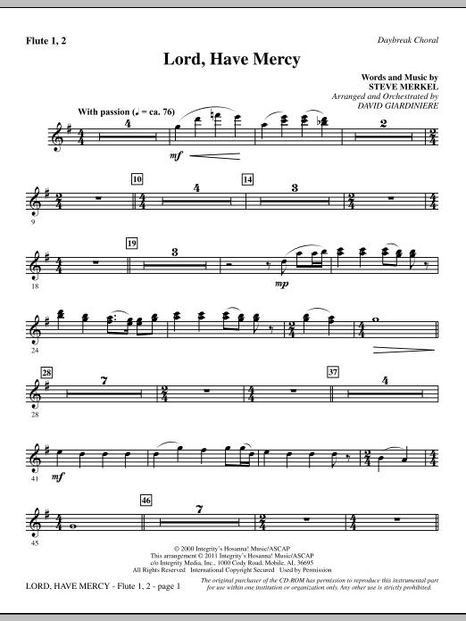 Lord Have Mercy - Flute 1 & 2 (Choir Instrumental Pak)