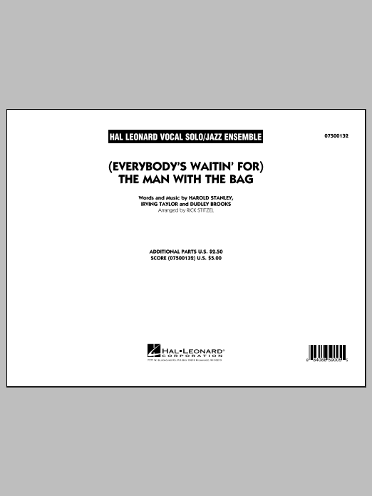 (Everybody's Waitin' For) The Man With The Bag - Full Score (Jazz Ensemble)