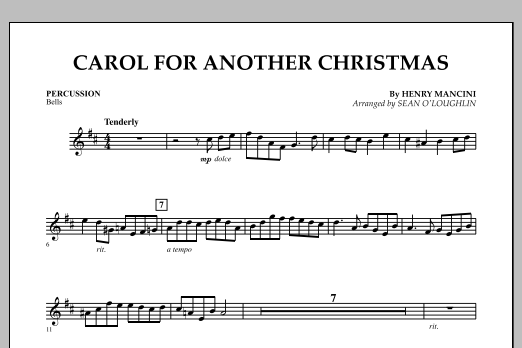 Carol For Another Christmas - Percussion (Orchestra)