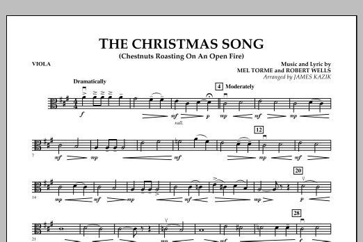 The Christmas Song - Viola (Orchestra)