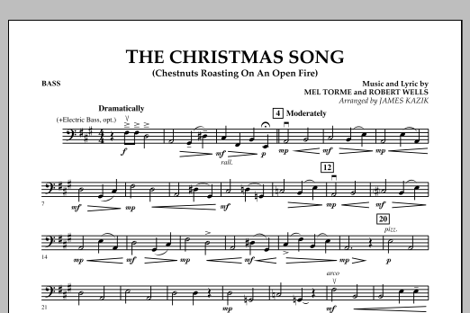 The Christmas Song - Bass (Orchestra)
