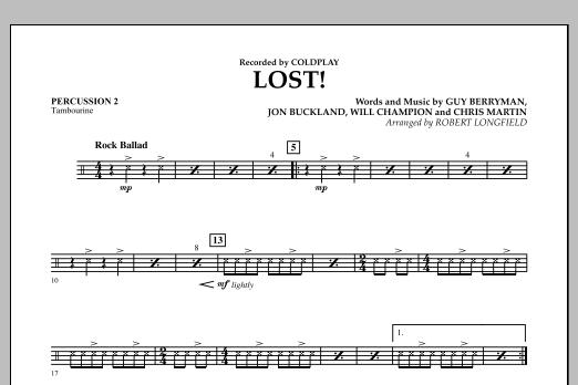 Lost! - Percussion 2 (Orchestra)