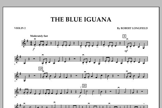 The Blue Iguana - Violin 2 (Orchestra)