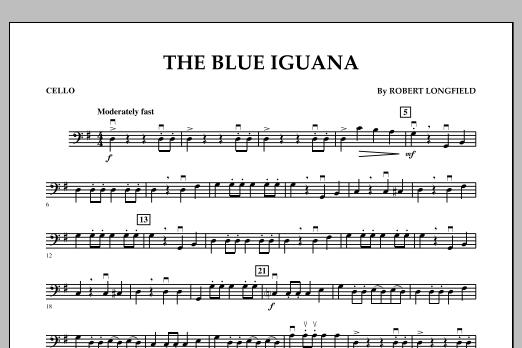 The Blue Iguana - Cello (Orchestra)