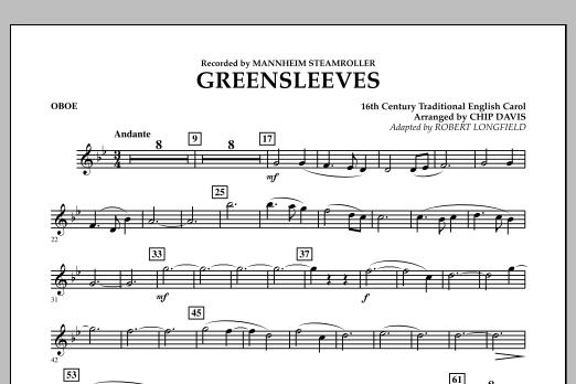 Greensleeves - Oboe (Concert Band)