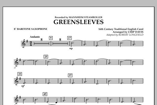 Greensleeves - Eb Baritone Saxophone (Concert Band)