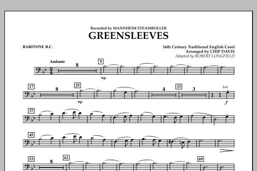 Greensleeves - Baritone B.C. (Concert Band)