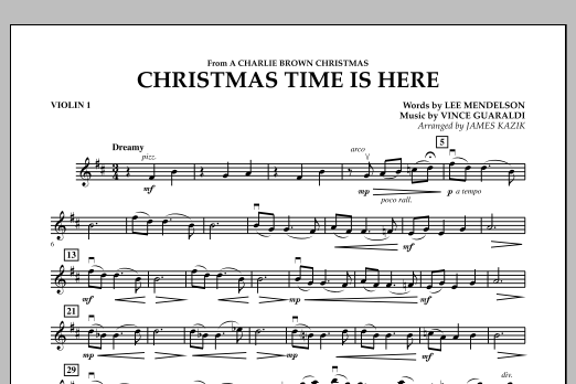 christmas time is here cello by lee mendelson james kazik vince guaraldi - Vince Guaraldi Christmas Time Is Here