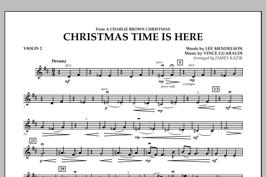 christmas time is here cello by lee mendelson james kazik vince guaraldi - Christmas Time Is Here Sheet Music