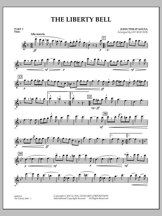 The Liberty Bell - Pt.1 - Flute (Concert Band: Flex-Band)