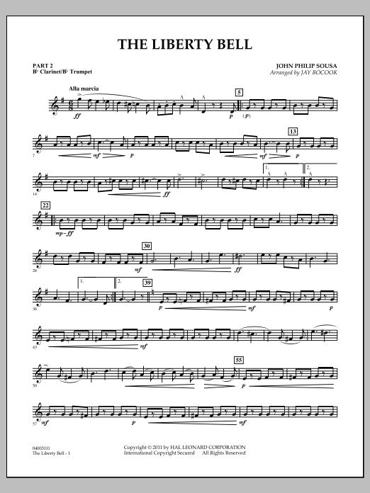 The Liberty Bell - Pt.2 - Bb Clarinet/Bb Trumpet (Concert Band: Flex-Band)
