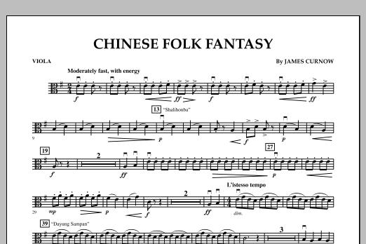 Chinese Folk Fantasy - Viola (Orchestra)