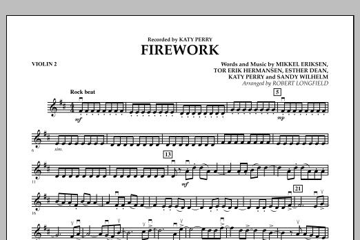 Firework - Violin 2 (Orchestra)