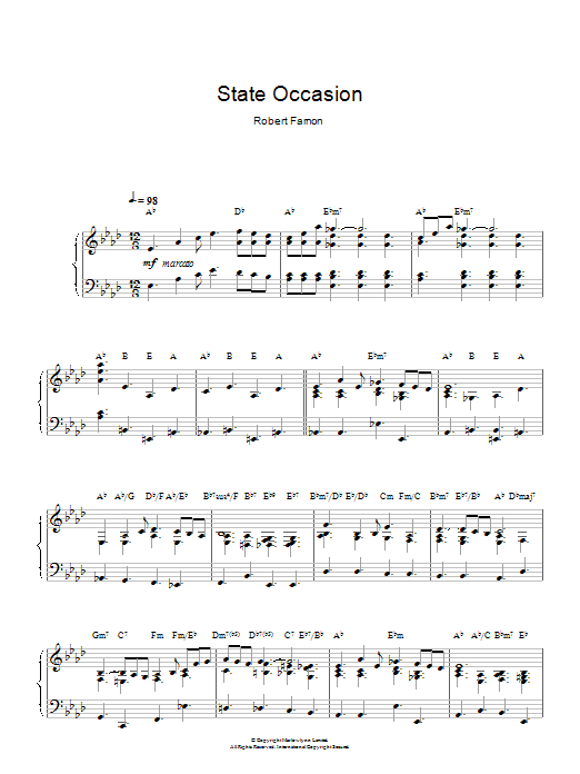 State Occasion Sheet Music
