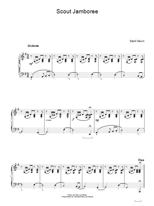 Scout Jamboree Sheet Music