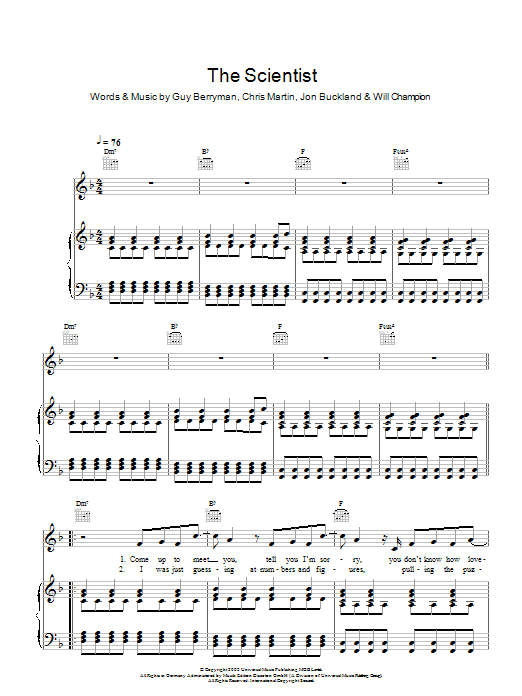Ukulele ukulele tabs the scientist : Piano : piano tabs the scientist Piano Tabs The plus Piano Tabs ...