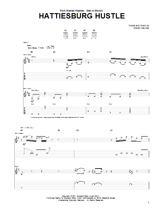 Hattiesburg Hustle Sheet Music