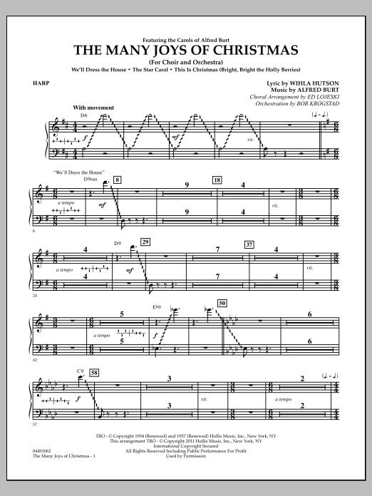 The Many Joys Of Christmas (Set One) - Harp (Full Orchestra)
