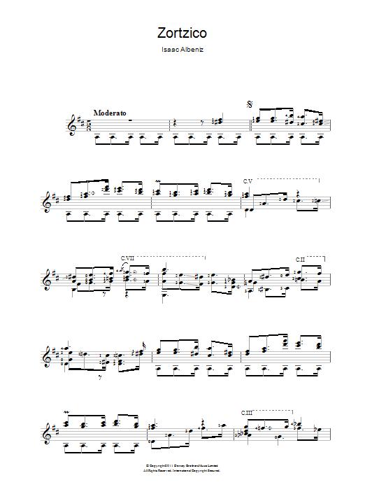 Zortzico Sheet Music