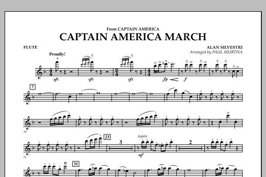 Captain America March - Flute (Concert Band)