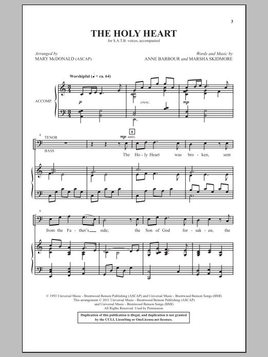 The Holy Heart (SATB Choir)