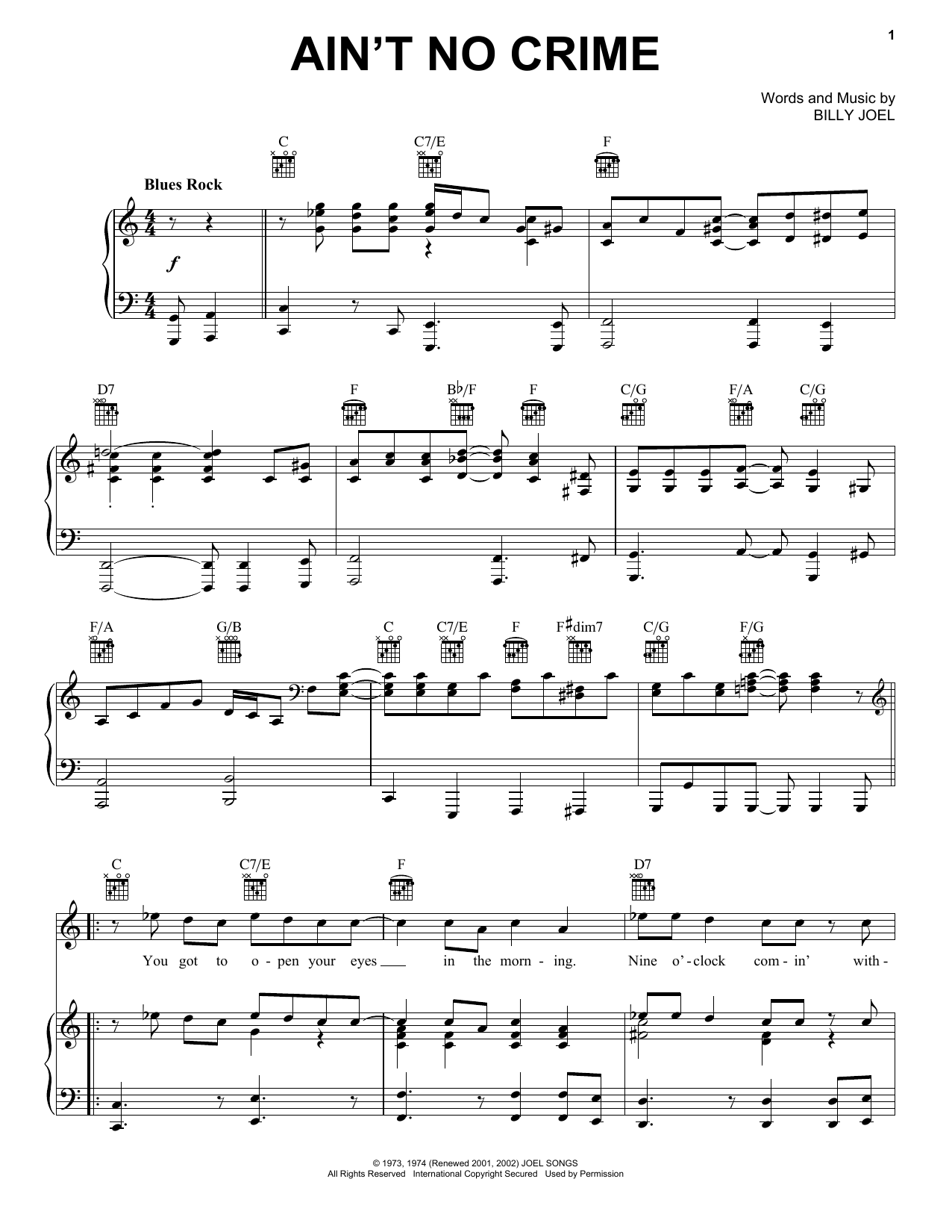 the ballad of billy the kid sheet music pdf