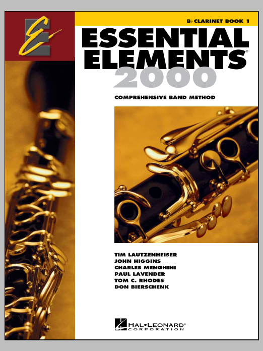 Essential Elements 2000, Book 1 For Clarinet (Book Only) Sheet Music