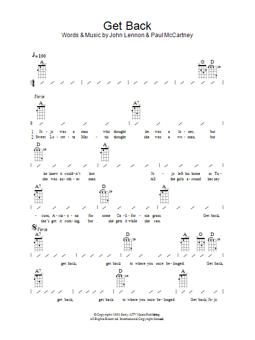 Attractive Get Back Chords Component - Basic Guitar Chords For ...