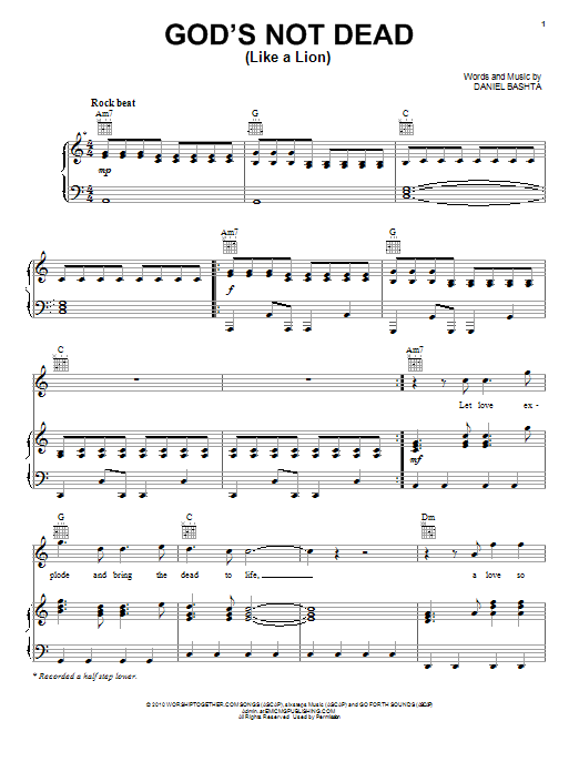 my god is so big chords pdf