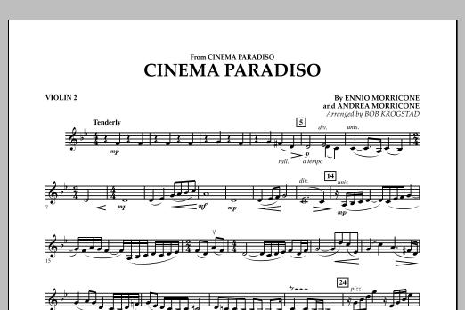 Cinema Paradiso - Violin 2 (Orchestra)