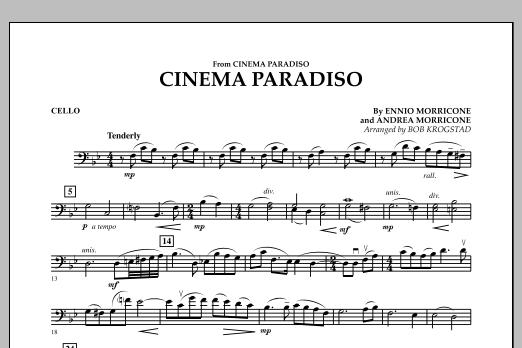 Cinema Paradiso - Cello (Orchestra)