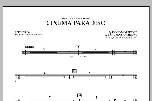 Cinema Paradiso - Percussion (Orchestra)