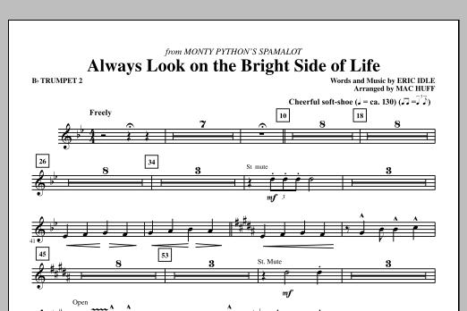 Always Look On The Bright Side Of Life - Bb Trumpet 2 (Choir Instrumental Pak)