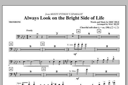 Always Look On The Bright Side Of Life - Trombone (Choir Instrumental Pak)