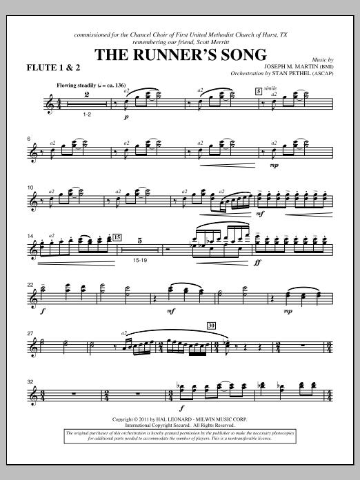 The Runner's Song - Flute 1 & 2 Sheet Music