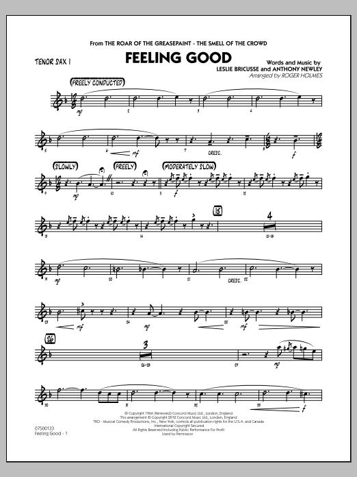 Feeling Good - Tenor Sax 1 (Jazz Ensemble)