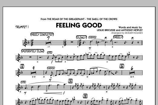 Feeling Good - Trumpet 1 (Jazz Ensemble)