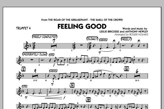 Feeling Good - Trumpet 4 (Jazz Ensemble)