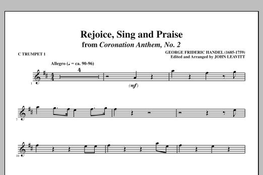 Rejoice, Sing And Praise - C Trumpet 1 (Choir Instrumental Pak)