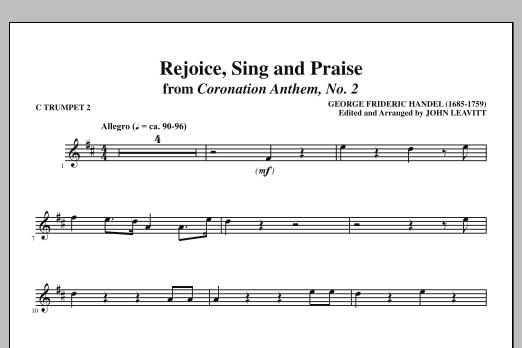 Rejoice, Sing And Praise - C Trumpet 2 (Choir Instrumental Pak)