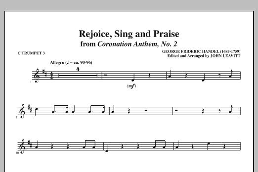 Rejoice, Sing And Praise - C Trumpet 3 (Choir Instrumental Pak)