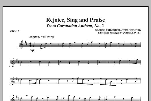 Rejoice, Sing And Praise - Oboe 2 (Choir Instrumental Pak)