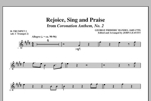 Rejoice, Sing And Praise - Bb Trumpet 2 (alt. C Tpt. 2) (Choir Instrumental Pak)