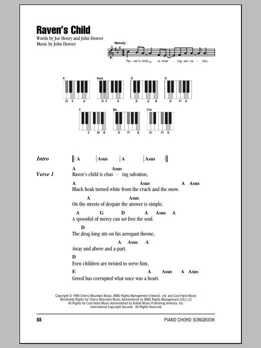Raven's Child Sheet Music